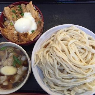 肉汁うどんとやみつき丼(駕籠休み (かごやすみ))