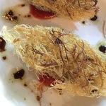 牡蠣のガタイフ包み