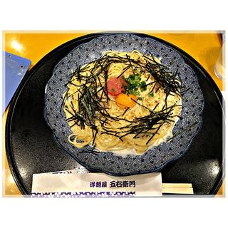 ズワイガニと海老と牡蠣 聖護院蕪おろしのクリームスープ スペシャルスイーツセット(洋麺屋 五右衛門)