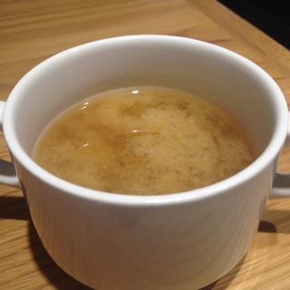 マッシュルームのお味噌汁(マッシュルームトーキョー (MUSHROOM TOKYO))