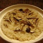 舞茸の土鍋