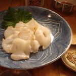 生タコの炙り刺身