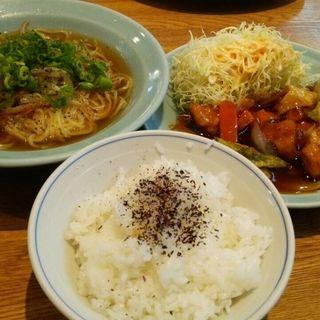 酢豚定食(天外 )