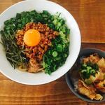 ランチセット(混ぜそば赤+ミニスタ丼)