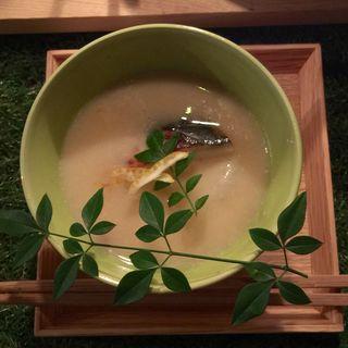白味噌のお雑煮(ノキシタ エディブル ガーデン (Nokishita Edible Garden))