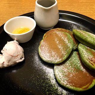 抹茶パンケーキ(こなな ルミネ立川店 )