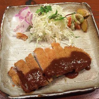 とんかつフルーツ味噌ソース(一膳飯屋 りぃぼん )