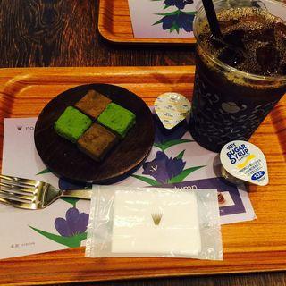 抹茶とほうじ茶の生チョコレート(ナナズ グリーンティー 仙台パルコ店 (nana's green tea ))