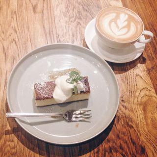 塩チーズケーキ(ジンナンカフェ (JINNAN CAFE))