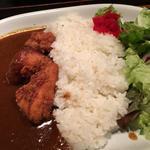 美桜鶏もも肉唐揚げの特製カレーライス