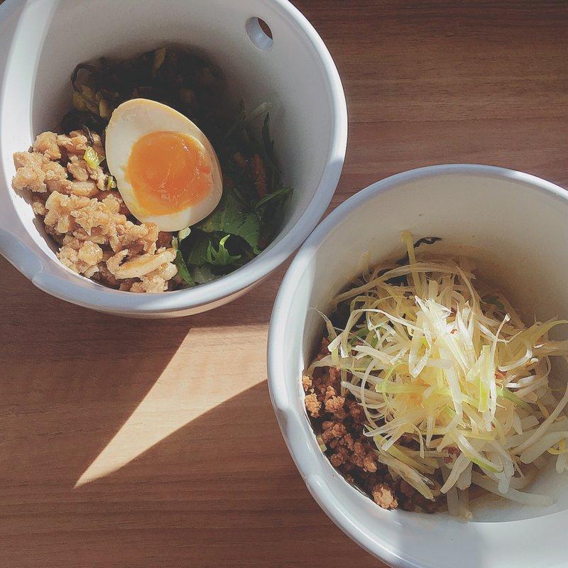選べるセットメニュー(魯肉飯&汁なしマーラー麺)