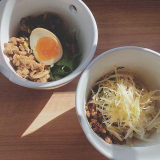 選べるセットメニュー(魯肉飯&汁なしマーラー麺)(彩茶房 (サイサボウ))