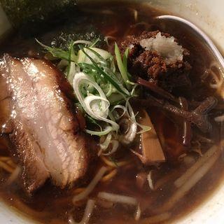 豚そば醤油(麺屋 丸鶏庵 (まるちあん))