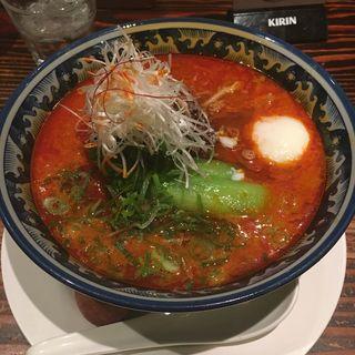 激辛担々麺(四川辣麺 阪急三番街店 (シセンラーメン))