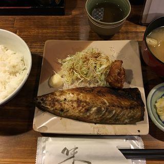 サバ塩焼き定食(瓢箪 (ヒョウタン))