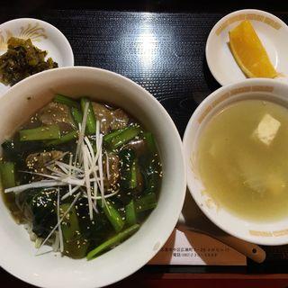 牛肉飯(台湾料理 青葉 )