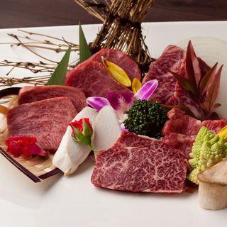 肉の盛り合わせ(焼肉バルdouble )