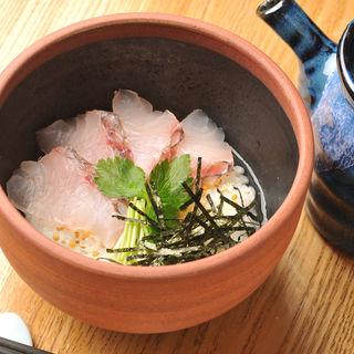 真鯛茶漬け(夜ばなし 旬魚季菜)