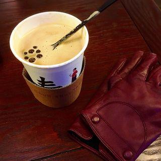 タピオカ生姜ミルクティー(春水堂 代官山店 (チュンスイタン))