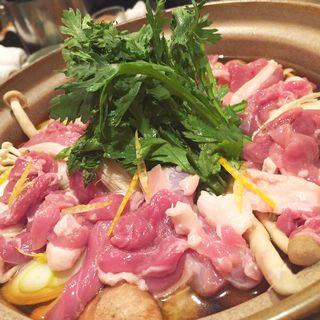 鴨鍋(小料理 銭形)