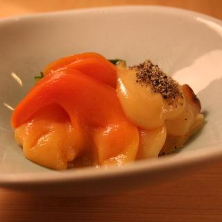 ほっき寄貝のお造り(蔵六鮨 三七味 )