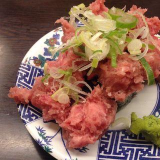 こぼれネギトロ(すし台所家 渋谷本店 )