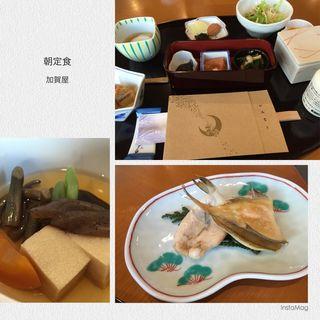朝定食(加賀屋 )