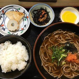 そば定食(大黒屋)