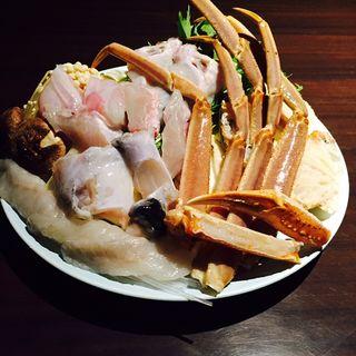 海鮮鍋(あの時のふぐ… ふぐ清 )