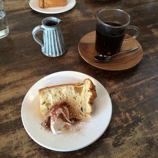 シフォンケーキ(cafe nei )