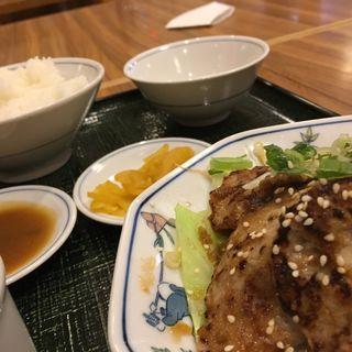 生姜焼定食(テンホウ若槻大通り店)