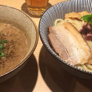 ラム骨塩味のつけ麺 味玉乗せ(メンショー トーキョー (MENSHO TOKYO))