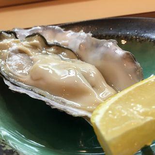生牡蠣(寿司さか本)