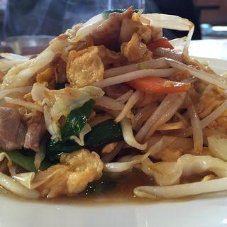 豚肉と玉子の野菜炒め定食(中華宝香 )