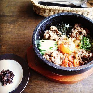 特製石焼き牛バラ丼(アダージョ )