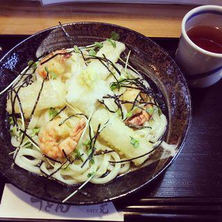 揚げ餅エビぶっかけ(克 本店 (カツ))