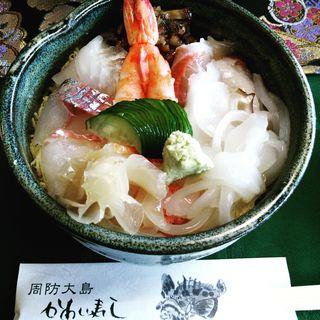 海鮮丼(並)(かわい寿し)
