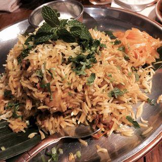 限定ビリヤニ(シバカリー ワラ (shiva curry wara))