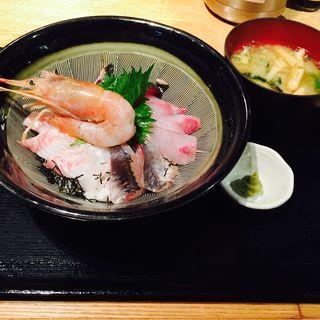 米福海鮮丼(米福 四条烏丸 )