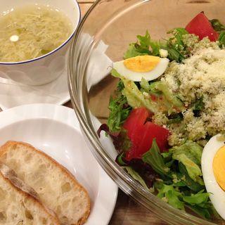 サラダランチセット(カフェ アクイーユ マルイシティ 横浜 (café accueil Yokohama))