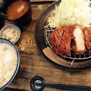 ロースカツ定食160g(マ・メゾンのとんかつ 星ヶ丘テラス店 )