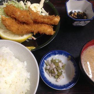 イカフライ定食(やまだや )