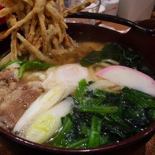 季節限定鍋焼きうどん(増田うどん)