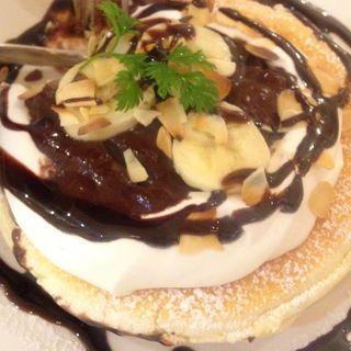 バナナショコラ(カフェ ド ヴォアラ (Cafe de Voila【旧店名】ヴォアラカフェ))