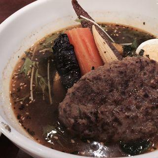 ハンバーグスープカリー(東京ドミニカ (新宿ドミニカ))