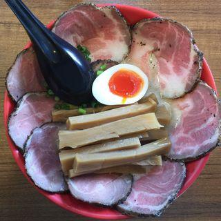 濁とん塩チャーシュー麺(あいつのラーメン かたぐるま )