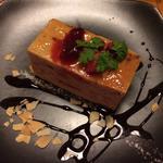 苺と山椒のチーズケーキ