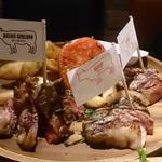 熟成肉3種盛り合わせ(サーロイン・ミスジ・ザブトン)