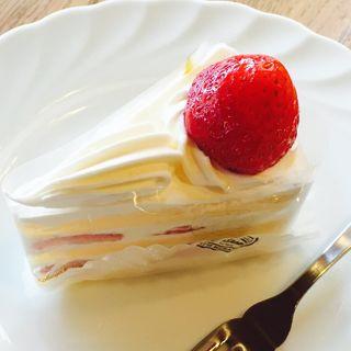 苺のショートケーキ(神戸屋レストラン 緑ヶ丘店 (コウベヤレストラン))