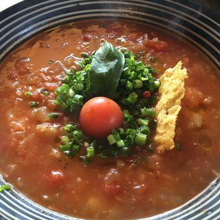 トマトラーメン(麺はパスタの新感覚!)(イタリア小僧 )